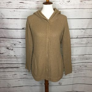Sparrow Anthro hooded cardigan